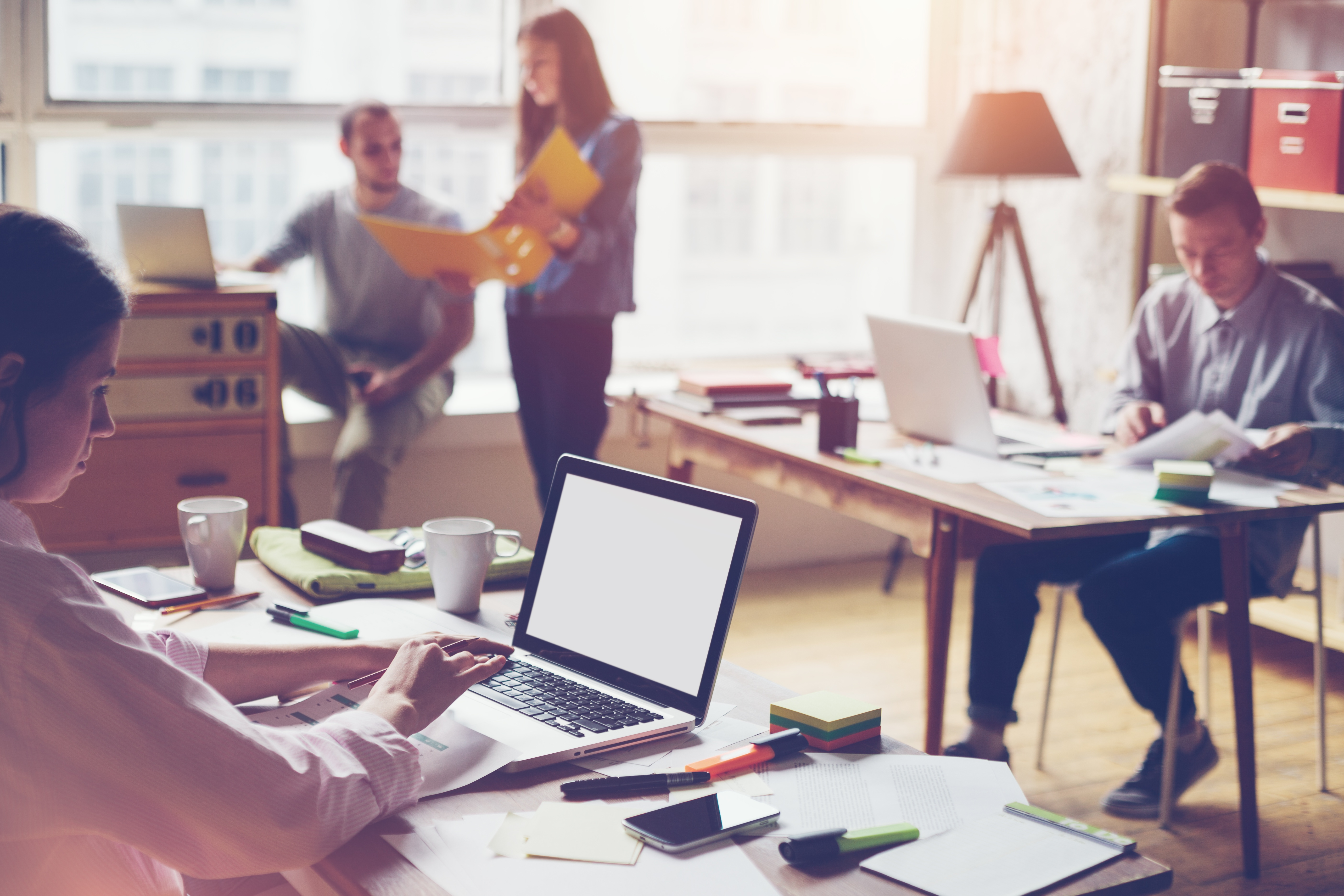 Attracting Millennials with Office Design