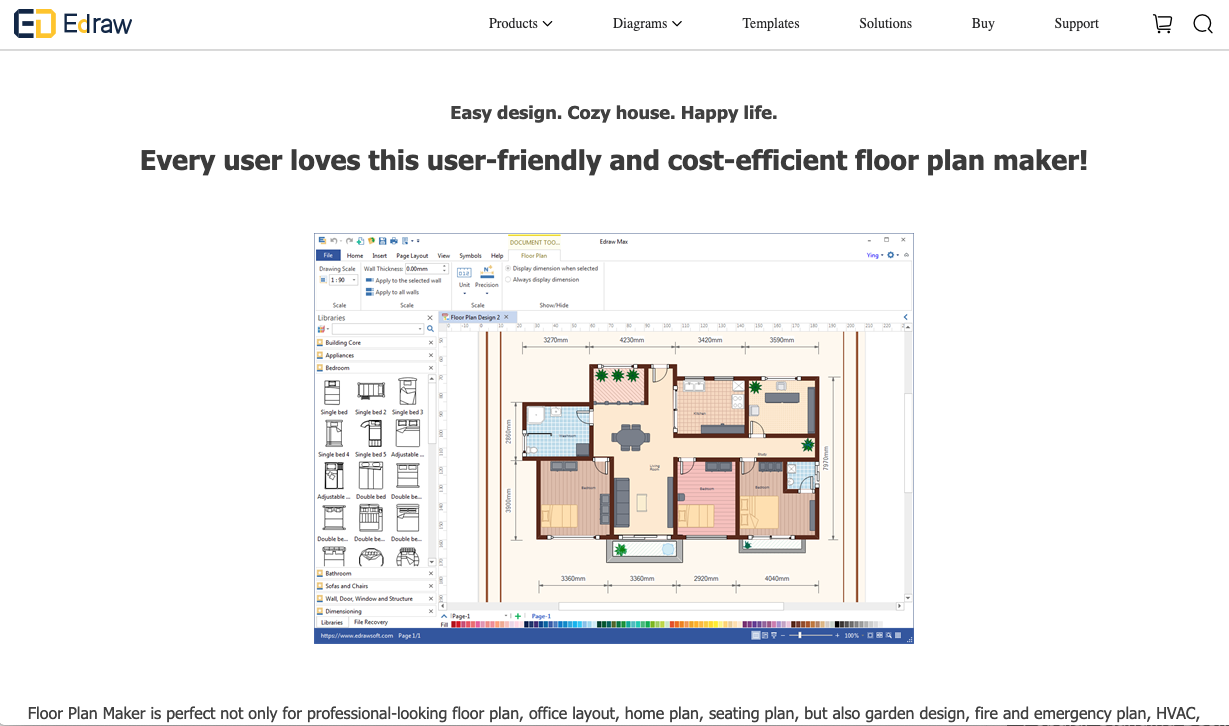 Office Planning Tools: Edraw