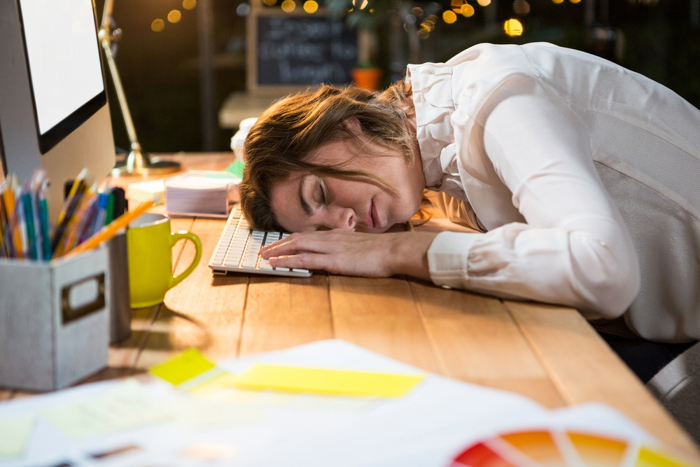 Increasing employee happiness and reducing exhaustion.