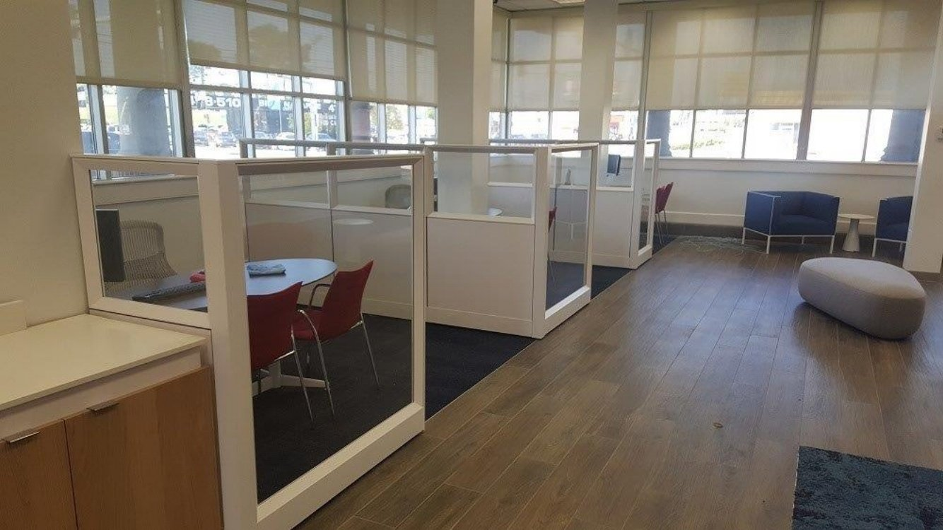 Cubicle Installations in Bank