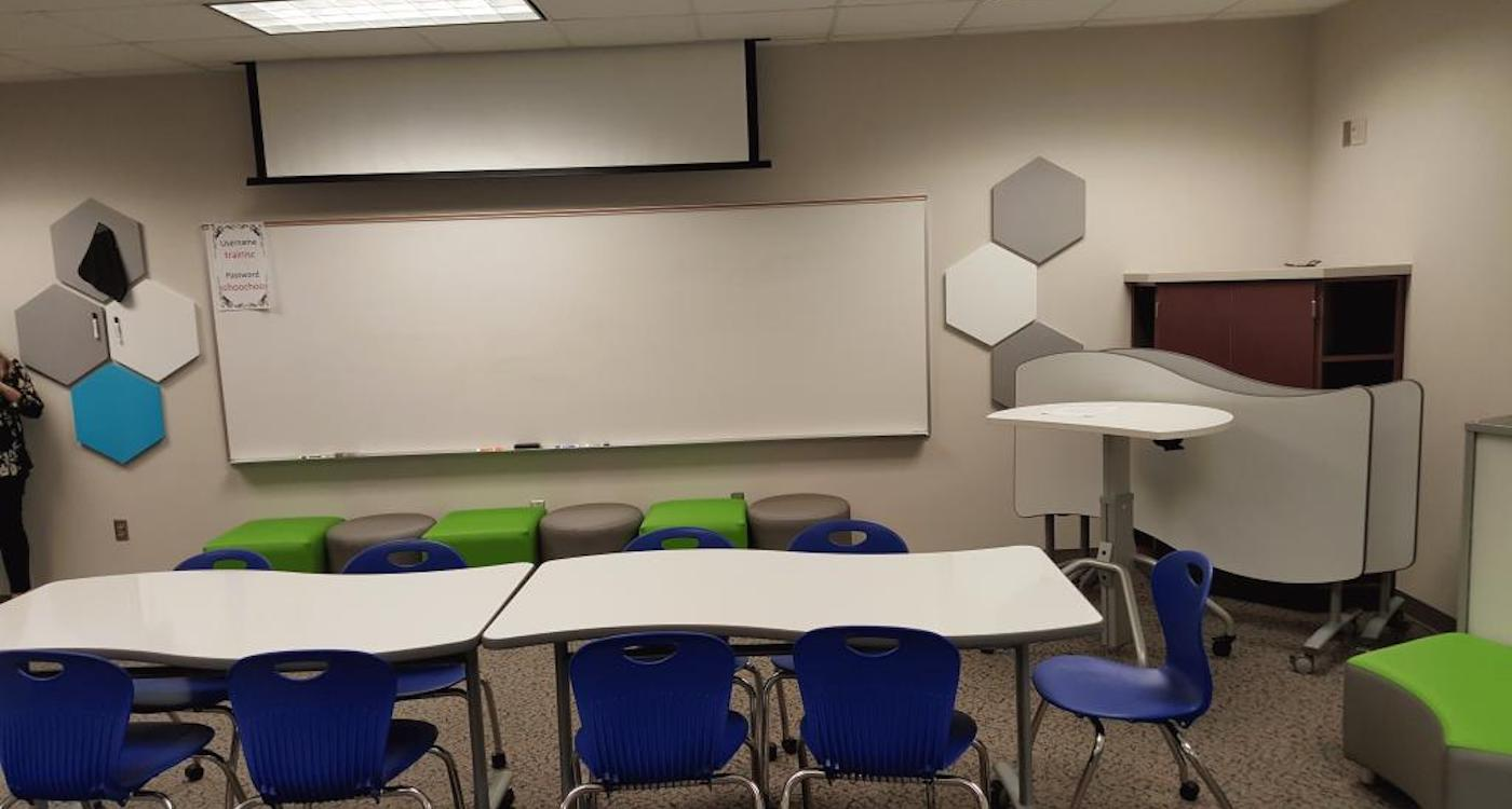 Installing Classroom Seating in Houston