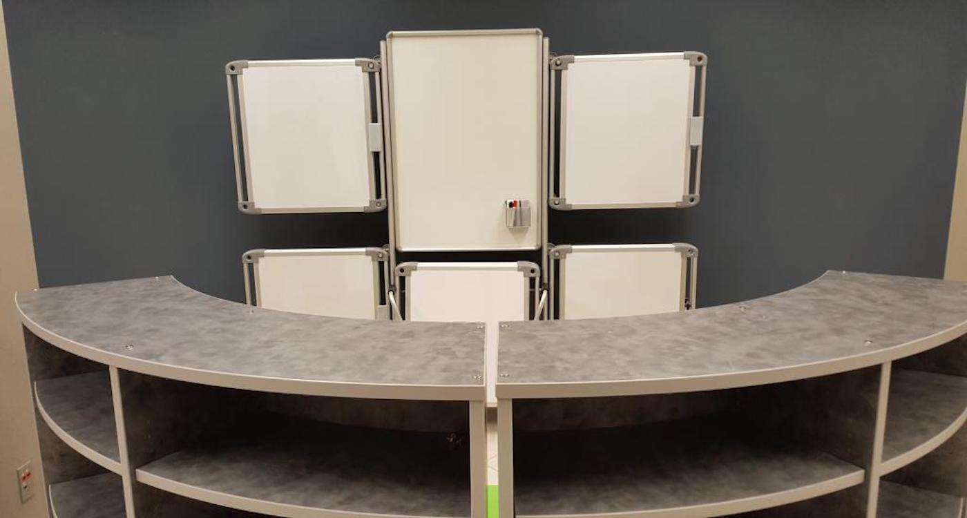 Installation of Classroom Whiteboards