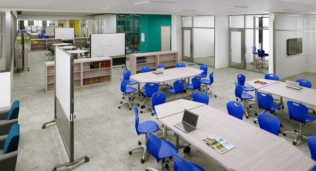 Houston Classroom Furniture Installation