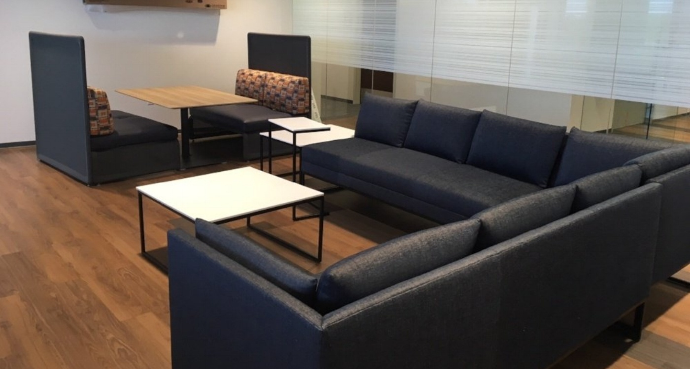 Cigna - Office Relaxation Area Furniture Installation.jpg